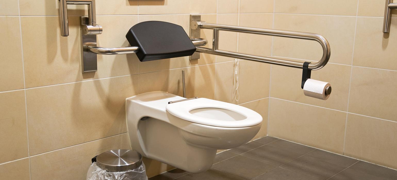 Behindertengerechtes WC » Barrierefreies WC  pflege.de