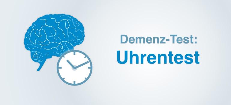 Demenz-Uhrentest