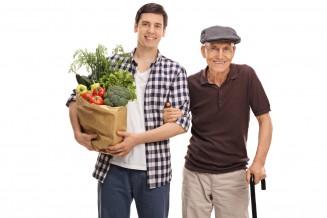 Einkaufs-Begleitservice für Senioren