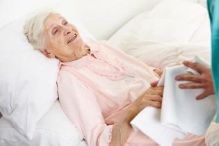 Körperpflege im Bett