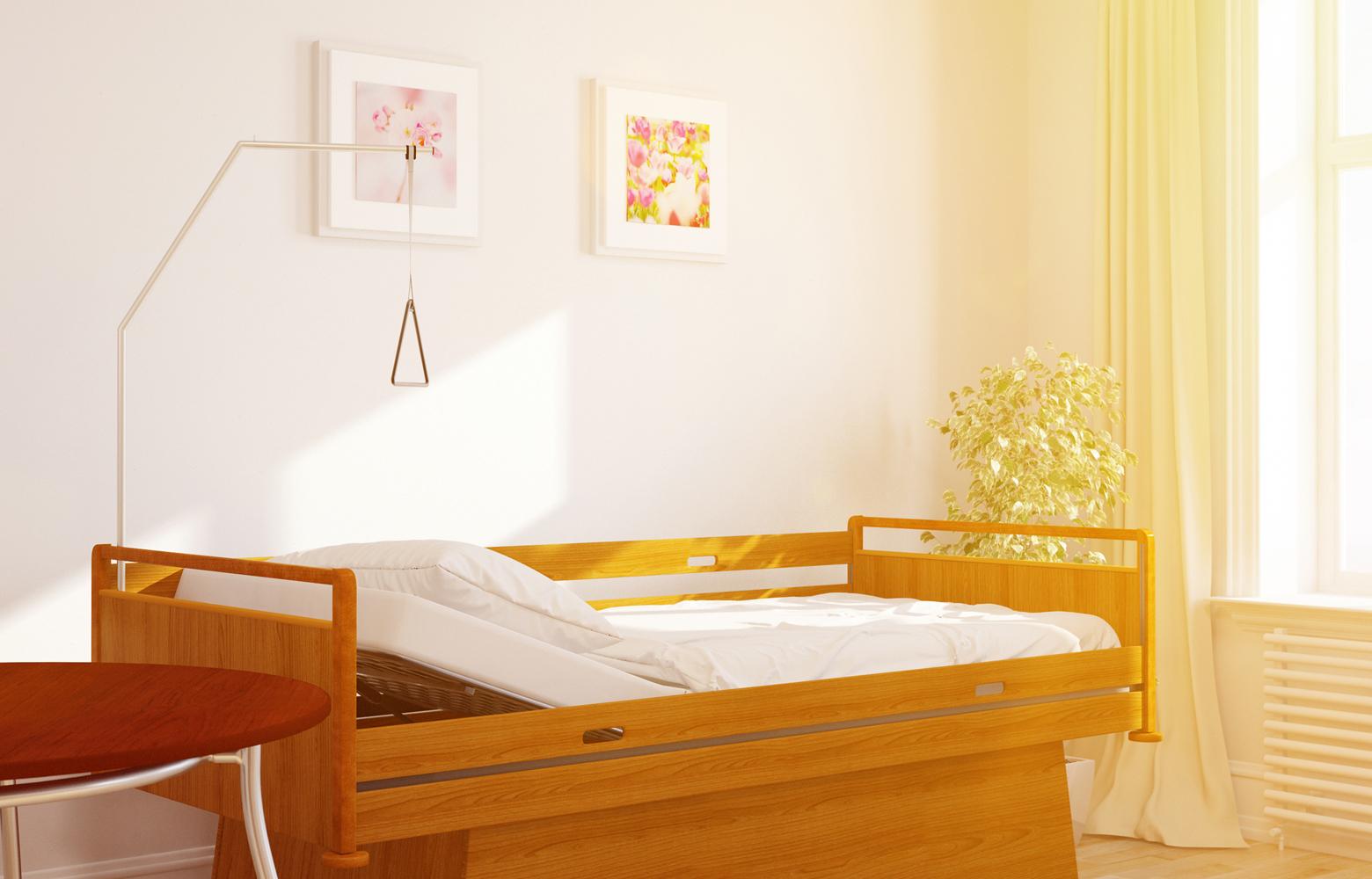Pflegebett / Krankenbett » Für Zuhause Auf Rezept   pflege.de