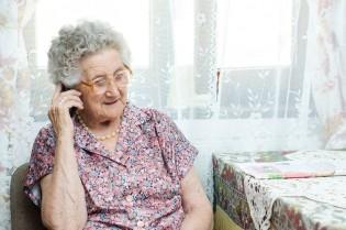 Seniorenhandy mit Notruftaste
