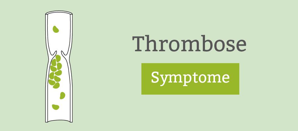 Anzeichen Trombose