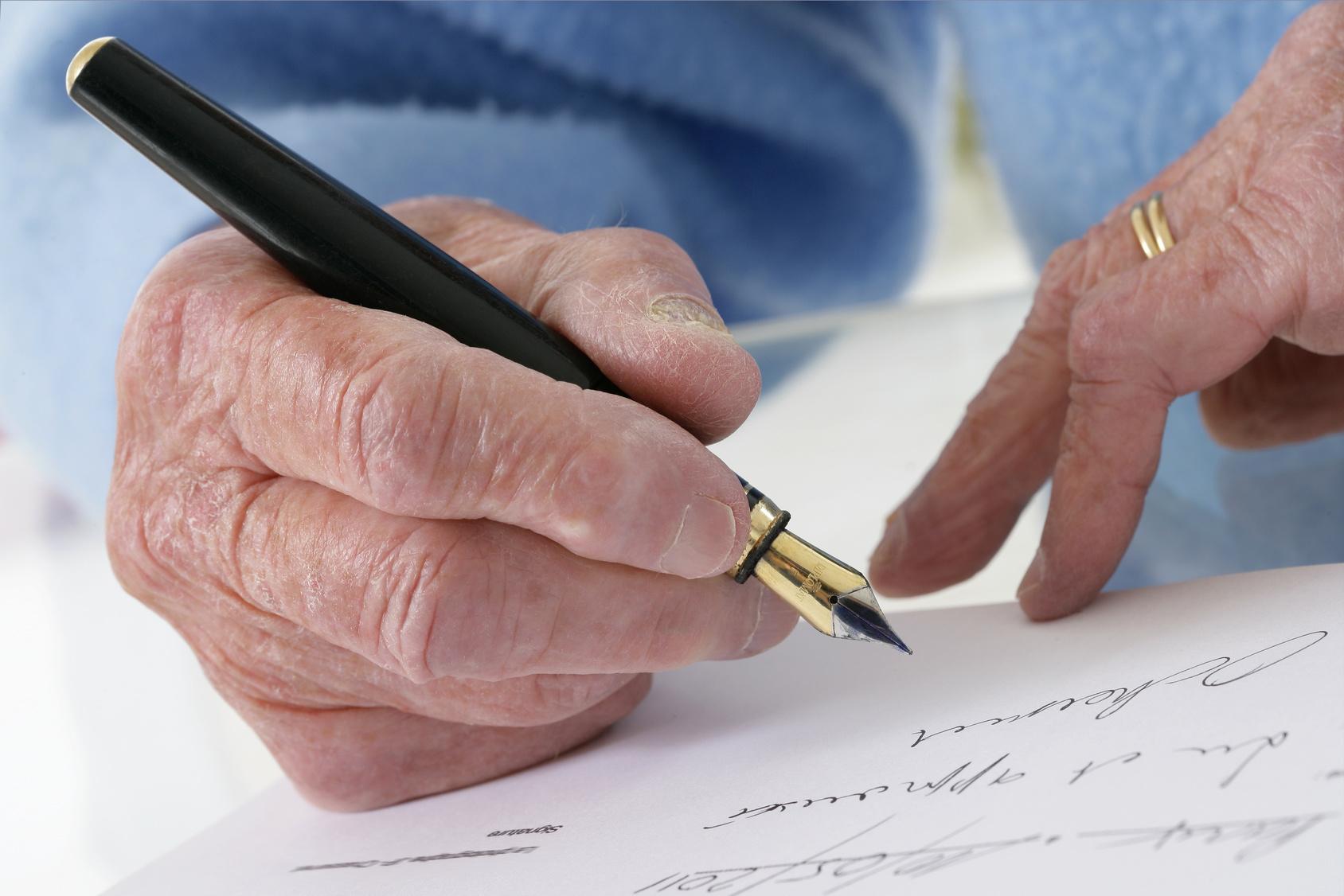 Testament Schreiben Letzter Wille Mit Muster Vorlage