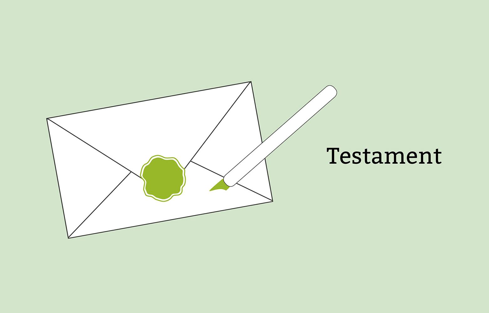 Testament Schreiben Letzter Wille Mit Muster Vorlage Pflege De