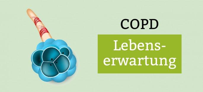 COPD Stadien / Lebenserwartung