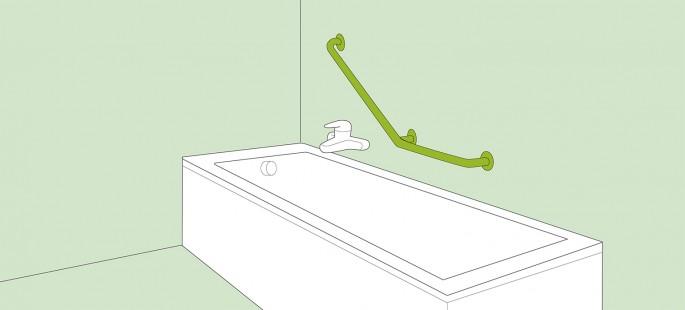 Haltegriffe Badezimmer